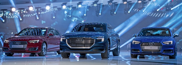Audi e-tron Quattro - elektromos autók